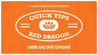 Download Under and Over Exposing the RED Epic Dragon - Quick Tips by Camera Ambassador Video