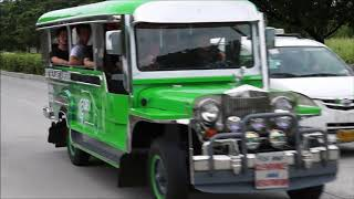 Download Driving the Electric Jeepney Prototype in Manila Video