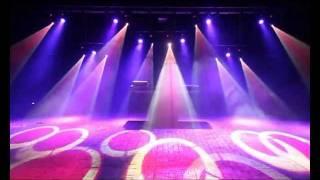Download Lichtshow festival podium - Dance Video