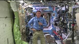Download Space Station Astronaut Discusses Life in Space with Colorado Students Video
