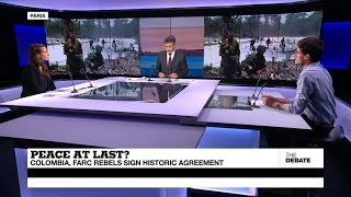 Download Peace at last? Colombia, FARC rebels sign historic peace accord (part 1) Video