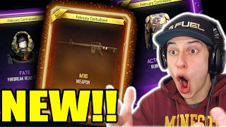 Download THE NEW DLC WEAPONS!! BO3 *NEW GUNS* SUPPLY DROP OPENING!! (February New Weapons & Themes) Video