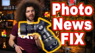 Download PHOTO NEWS FIX: SONY A9 is it Really Silent, 30 Years Of CANON EOS & Will You Kickstart the TriLens? Video