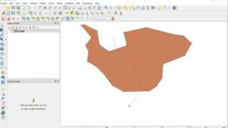 Download GIS Solutions - QGIS How to create a polygon, cut it and merge Video