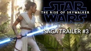 Download Star Wars: The Rise of Skywalker - SAGA TRAILER #3 - Daisy Ridley, Adam Driver Video