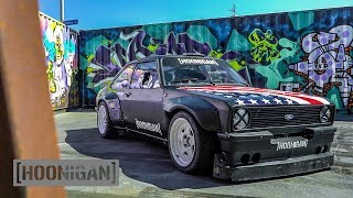 Download [HOONIGAN] DT 145: Ken Block's 9000rpm Escort MK2 Gymkhana Car Video
