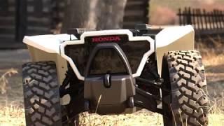 Download Honda Unveils 3E-D18 Robotic Workhorse at CES 2018 Video