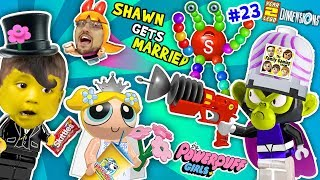 Download POWERPUFF GIRLS MARRY BABY SHAWN! FGTEEV Lego Dimensions Giant Colors Skittles Monkey (Year 3 #23) Video