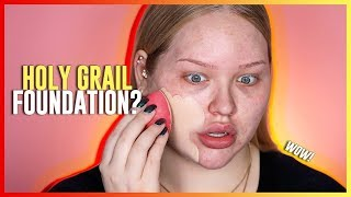 Download HOLY GRAIL FOUNDATION?? Huda Beauty Faux Filter Foundation REVIEW! Video