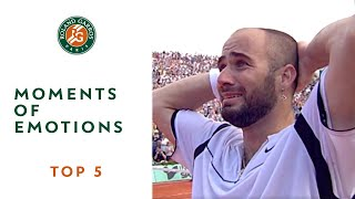 Download Top 5 Moments of Emotions - Roland-Garros Video