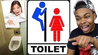 Download HILARIOUS RESTROOM SIGNS Video