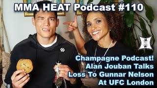 Download MMA H.E.A.T. Champagne Podcast #110: Alan Jouban Talks Loss To Gunnar Nelson; Manuwa's UFC London KO Video
