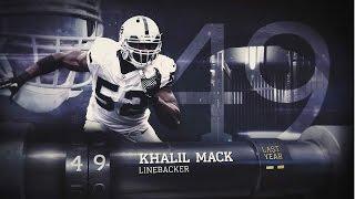 Download #49 Khalil Mack (LB, Raiders) | Top 100 Players of 2015 Video