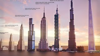 Download EVOLUTION of WORLD'S TALLEST BUILDING: Size Comparison (1901-2022) Video