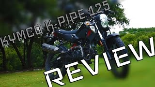 Download The BEST Kymco K-Pipe 125 REVIEW! Video