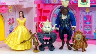 Download BEAUTY AND THE BEAST 2017 ENCHANTED ROSE SCENE Toys Review | itsplaytime612 Video