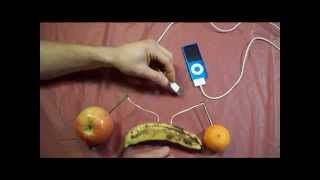 Download How to Charge an iPod with fruits. Video