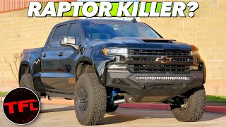 Download The PaxPower Jackal Is A Chevy Silverado That Can Finally Take On The Ford F-150 Raptor! Video