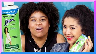 Download Women Try Lemisol Feminine Wash For The First Time Video