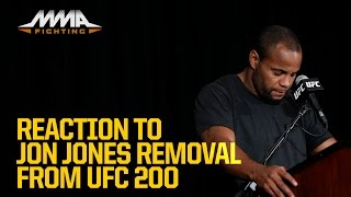 Download Jon Jones Removal From UFC 200 Reaction Video