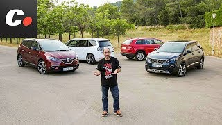 Download ¿Necesitas 7 plazas? Peugeot 5008, Skoda Kodiaq, Grand Scénic, Grand C4 SpaceTourer | coches Video