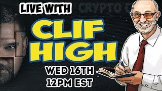 Download LIVE with CLIF HIGH - HalfPastHuman - Bitcoin Price - Financial Collapse Coming In November? 😱 Video