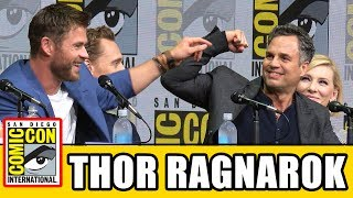 Download THOR RAGNAROK Comic Con Panel News & Highlights Video