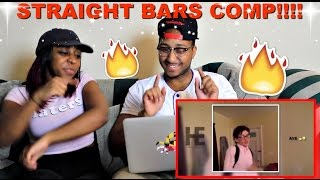 Download Straight BARS Compilation (Part.1) REACTION!! Video