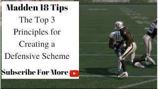 Download Madden 18 Tips - How to Create a Defensive Scheme: 3 Things to Do Before Starting Video