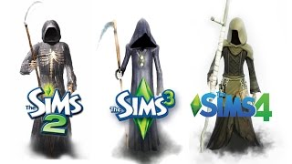 Download ♦ Sims 2 vs Sims 3 vs Sims 4: Death Video