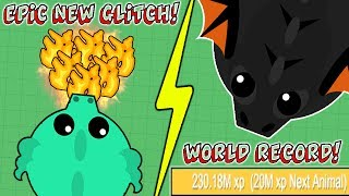 Download THE BEST NEW GLITCH EVER! NEW WORLD RECORD IN MOPE.IO! BLACK DRAGON FOR EVERYONE! (Mope.io Glitch) Video