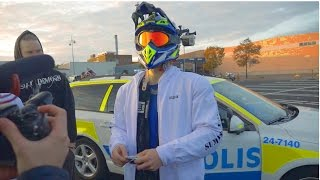 Download Supermoto vs. The Swedish Police 2 | BUSTED for real (funny)| BLDH Video