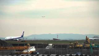 Download 途切れない飛行機の着陸・飛行機がいっぱい・羽田空港・つばさ公園 Video