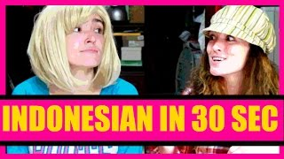 Download Learn Indonesian in 30 seconds: Indonesian the easy way Video