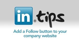 Download Add a Follow button to your company website Video