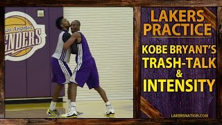 Download Kobe Bryant Trash-Talking At Lakers Practice (VIDEO) Video