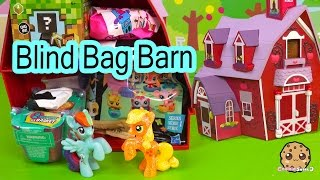 Download Blind Bag Toy Surprise Barn with My Little Pony Apple Jack + MLP Rainbow Dash - Cookieswirlc Video Video