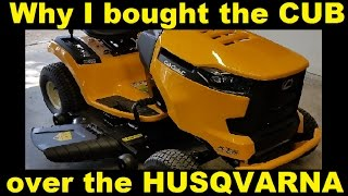 Download Why I bought the Cub Cadet over the Husqvarna Video