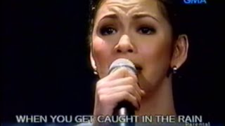 Download [HQ] Through The Rain - Regine Velasquez (January 2003) Video