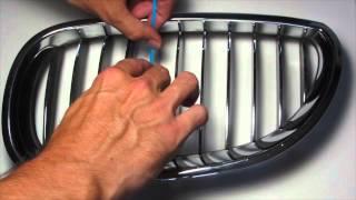 Download BMW Kidney Stripes Decal Installation Tutorial Nickos Graffix Video