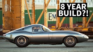 Download World's Best Looking Car? Hyper Rare Jaguar Low Drag Coupe Street Car Re-Creation Video