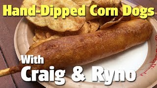 Download Craig and Ryno Eat Hand-Dipped Corn Dogs from Sleepy Hollow | Magic Kingdom Video