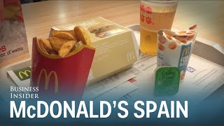 Download McDonald's in Spain is so much better than in America Video