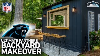 Download NFL Homegating Makeover: Carolina Panthers (w/ Monica from The Weekender) Video