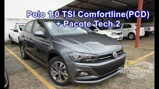 Download Novo Polo 2018 Comfortline 1.0 TSI AT6 com Pacote Tech 2 - Para PCD Video