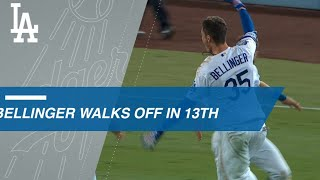 Download Cody Bellinger hits a walk-off single in the 13th Video
