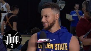 Download Steph Curry agrees with Kevin Durant to skip White House visit | The Jump | ESPN Video