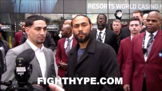 Download KEITH THURMAN UNIMPRESSED WITH DANNY GARCIA'S POWER; SAYS HE'S A BASIC PUNCHER THAT WON'T DROP HIM Video