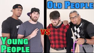 Download Young People vs Old People Video