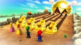 Download Mario Party 9 Boss Rush - Mario Vs Luigi Vs Peach Vs Daisy (Master Cpu) Video